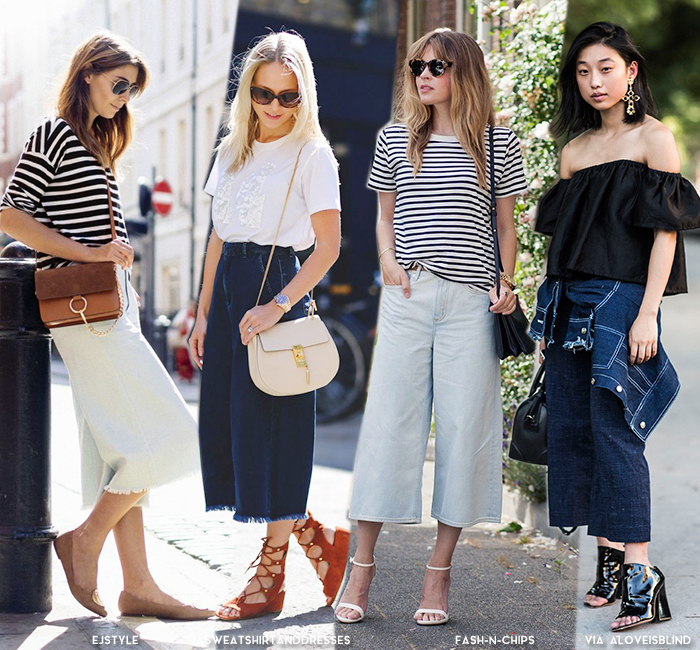 81ab0278107 How to Wear Culottes for Summer