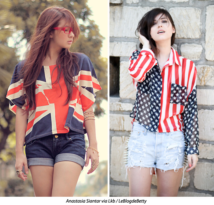 Style vs Style [Mini] Flags! , Blue is in Fashion this Year