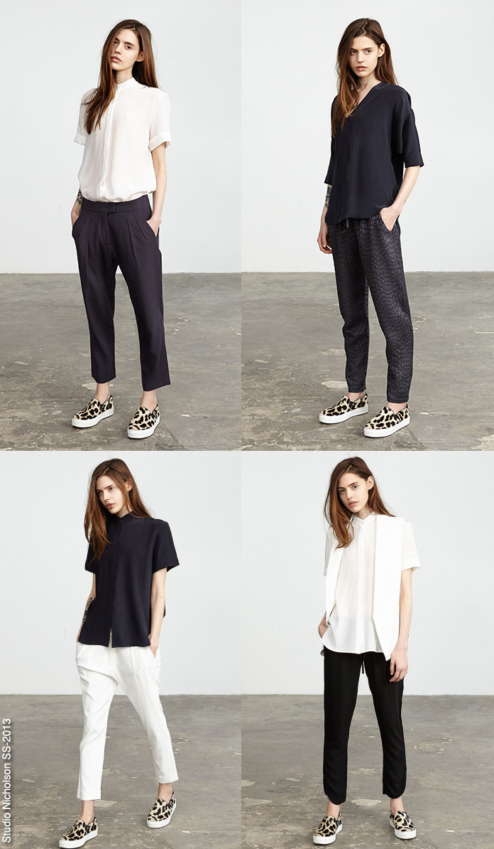 Minimal look book s blue is in fashion this year for Minimalist look