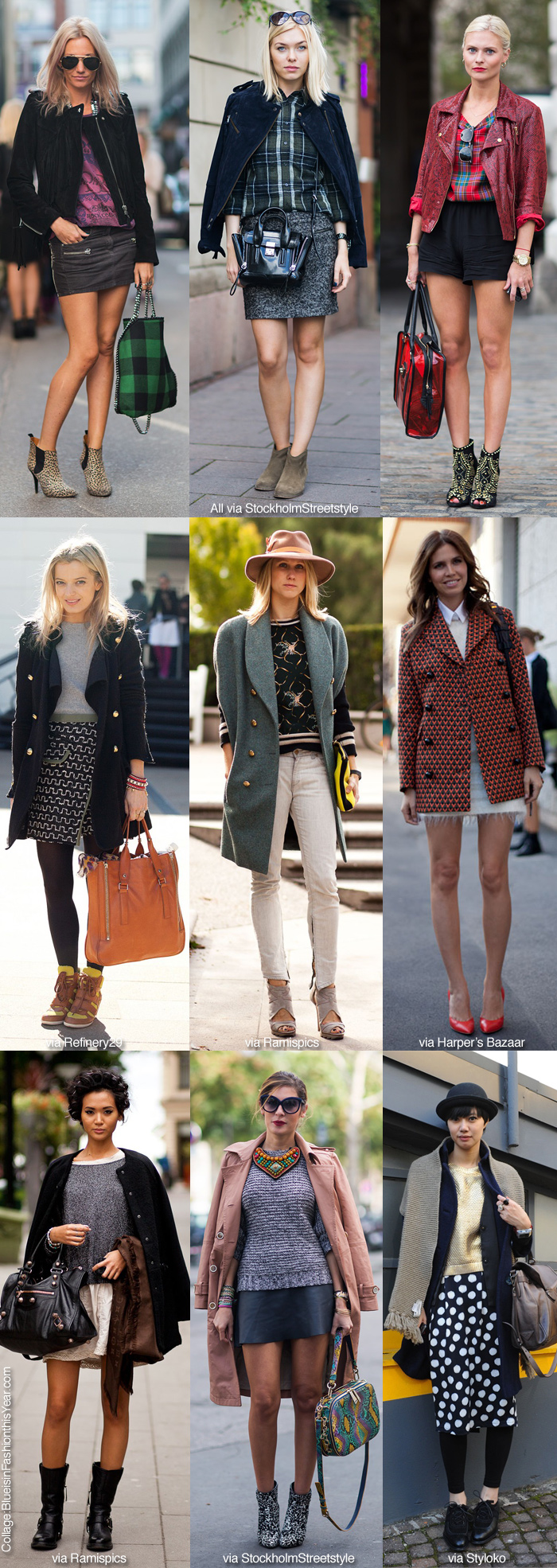 1b7cd93c1 Inspiration: Mix & Match - Blue is in Fashion this Year