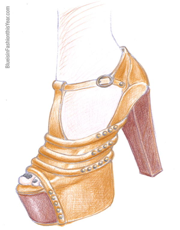 on chictopia the task is to design your own shoe design based on