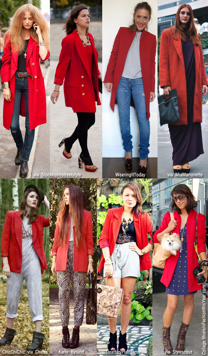What To Wear With A Red Blazer