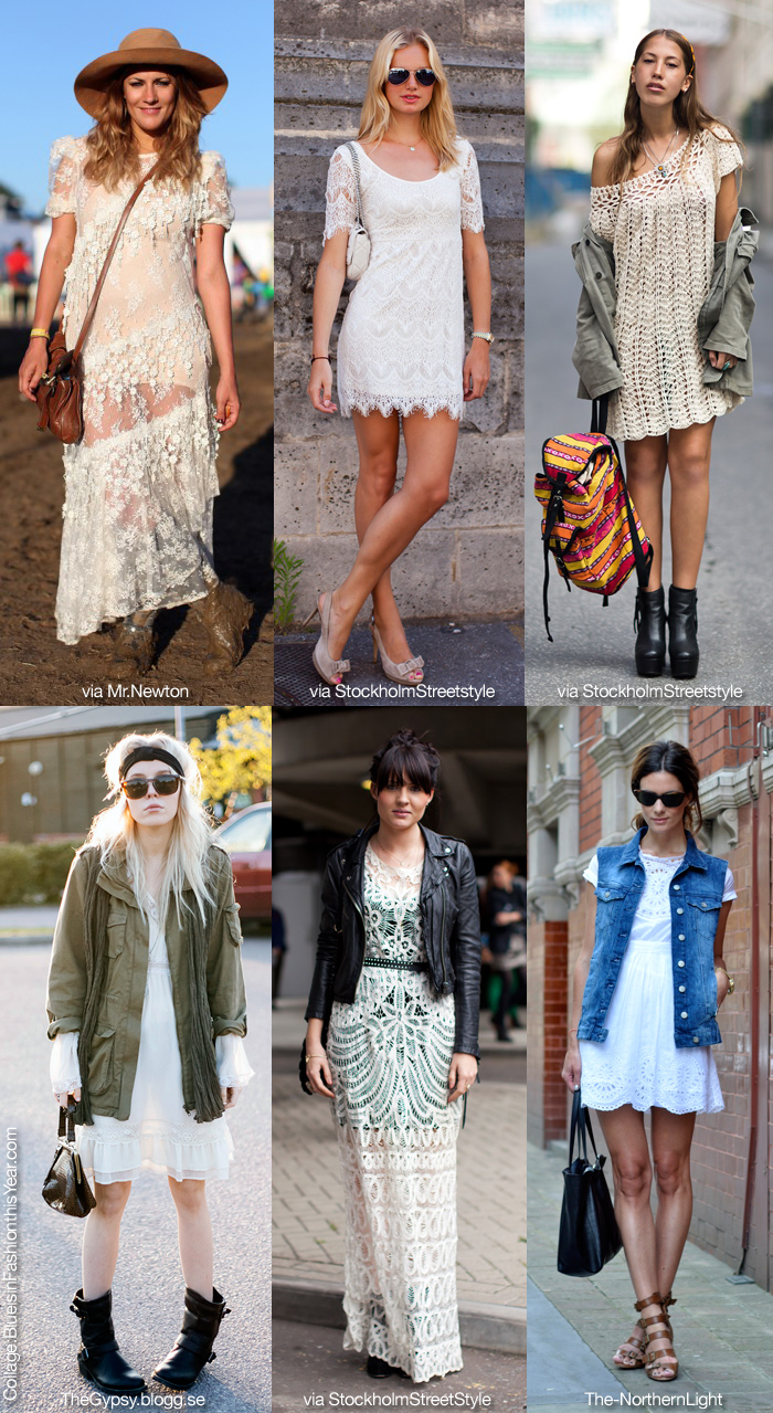 How to Wear Lace Clothing