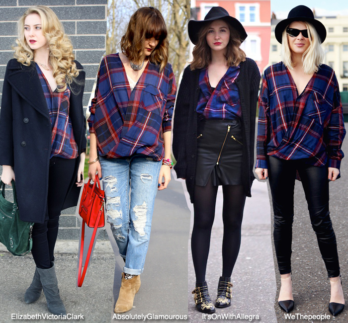 how to wear plaid shirt by zara